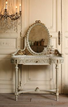 Pretty Little Things loooove Stylus, French Dresser, French Vanity, Vintage  Vanity, Shabby