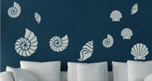 Seashell Wall Art Decals. Zoom