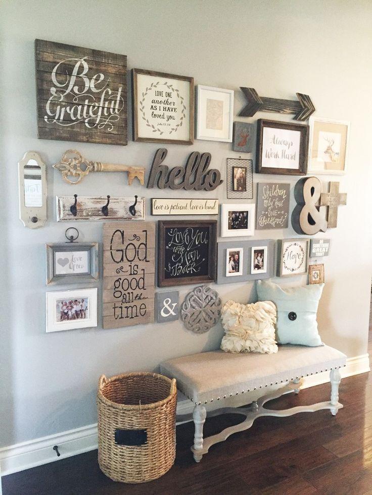 Cool Diy Rustic Decor Idea 3 Gray Living Room Decor Ideas, Living Room Decor  Country