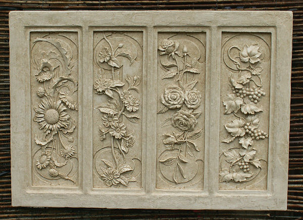 Four Seasons Wall Plaque