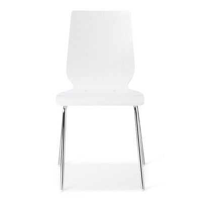 Bent Plywood Stacking Chair White - Room Essentials™