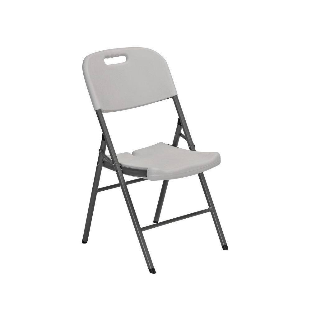 Sandusky White Folding Chair (Set of 4)