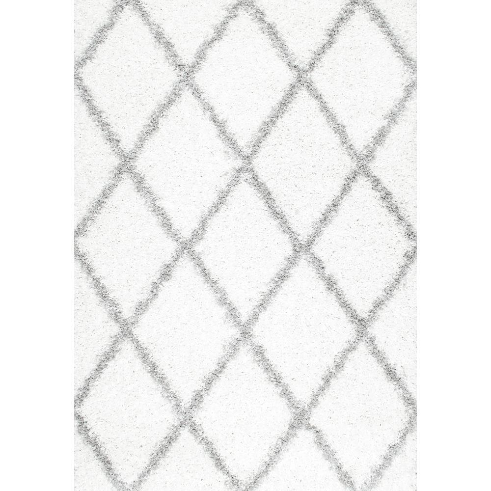 This review is from:Shanna Shag White 3 ft. x 5 ft. Area Rug