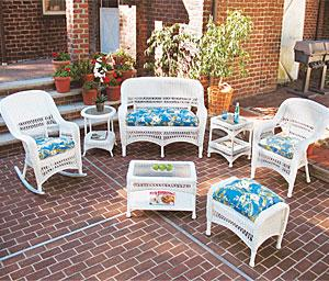 Mid Size Resin Wicker Patio Furniture