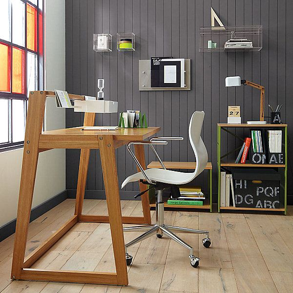 modern wooden home office desk 20 Stylish Home Office Computer Desks