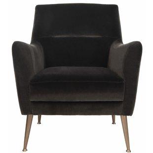 Louvenia Velvet Armchair