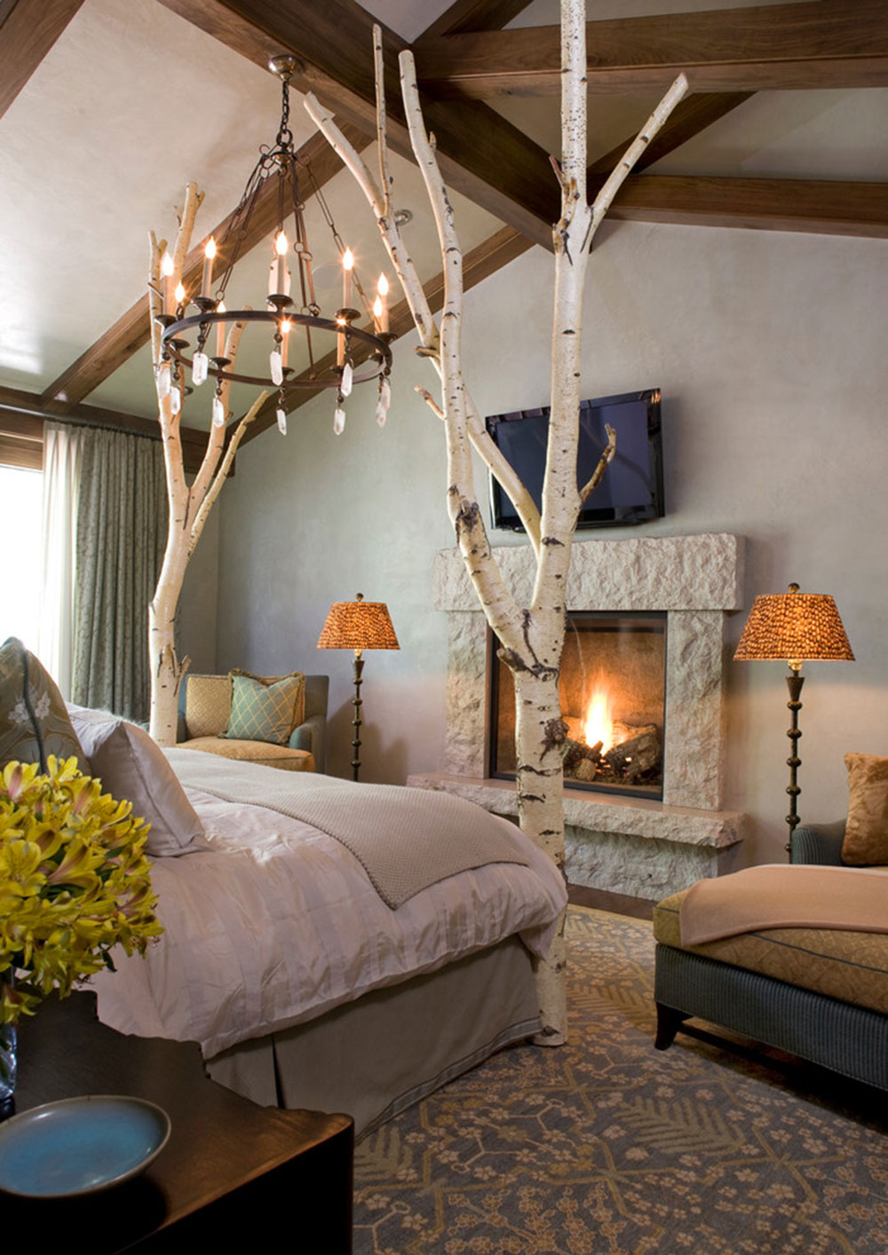 Rockledge-Road-Vail-Residence-by-K.-H.-Webb-Architects Vintage bedroom ideas that shouldn't be overlooked