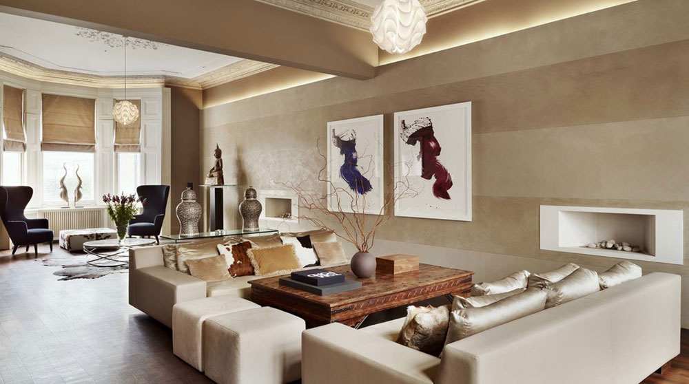 Kensington-House-by-Callender-Howorth Minimalist living room ideas to apply to your home