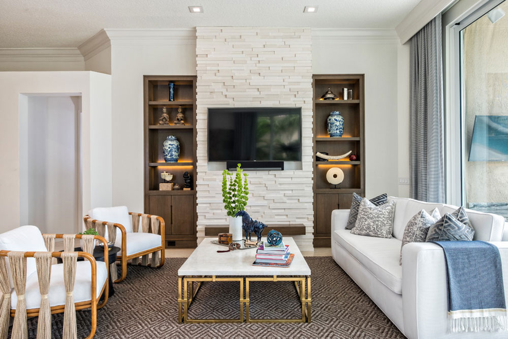 Delray-Beach-Residence-by-Hubley-Design-Interiors-LLC Minimalist living room ideas to apply to your home