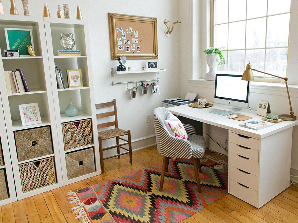 Home Office Home How can students design their workspace on a budget?