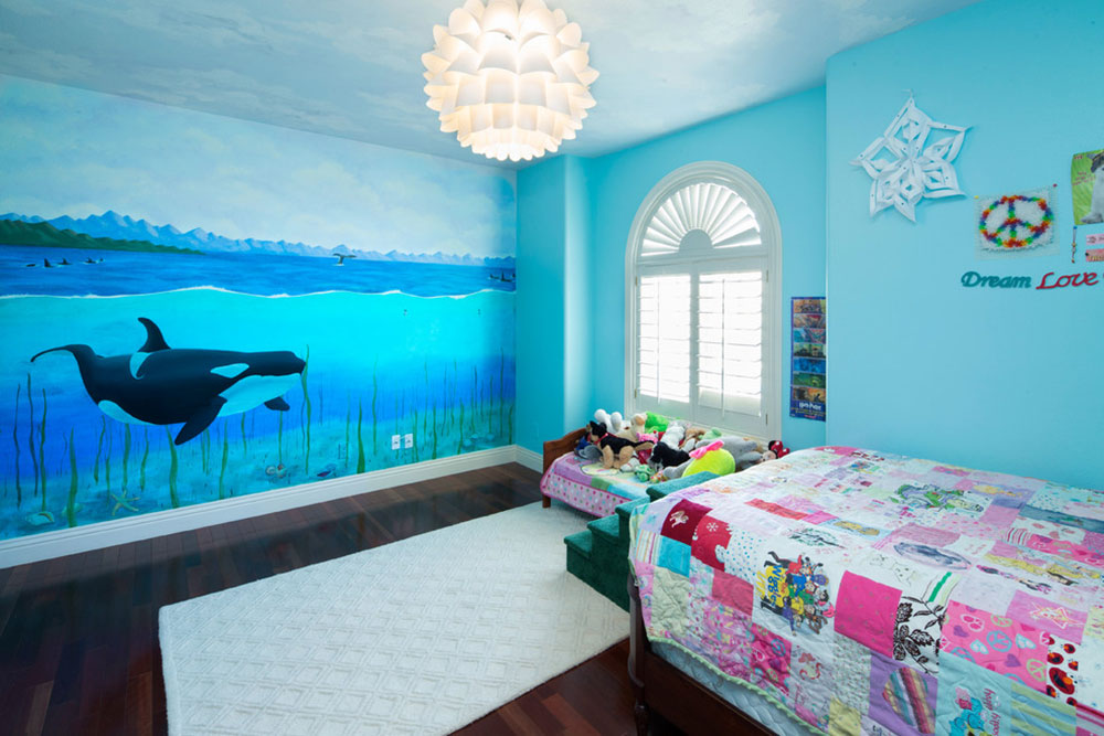 Vancouver-Whale-Watching-by-Fontana-Painting-LLC Children's bedroom ideas that are just awesome