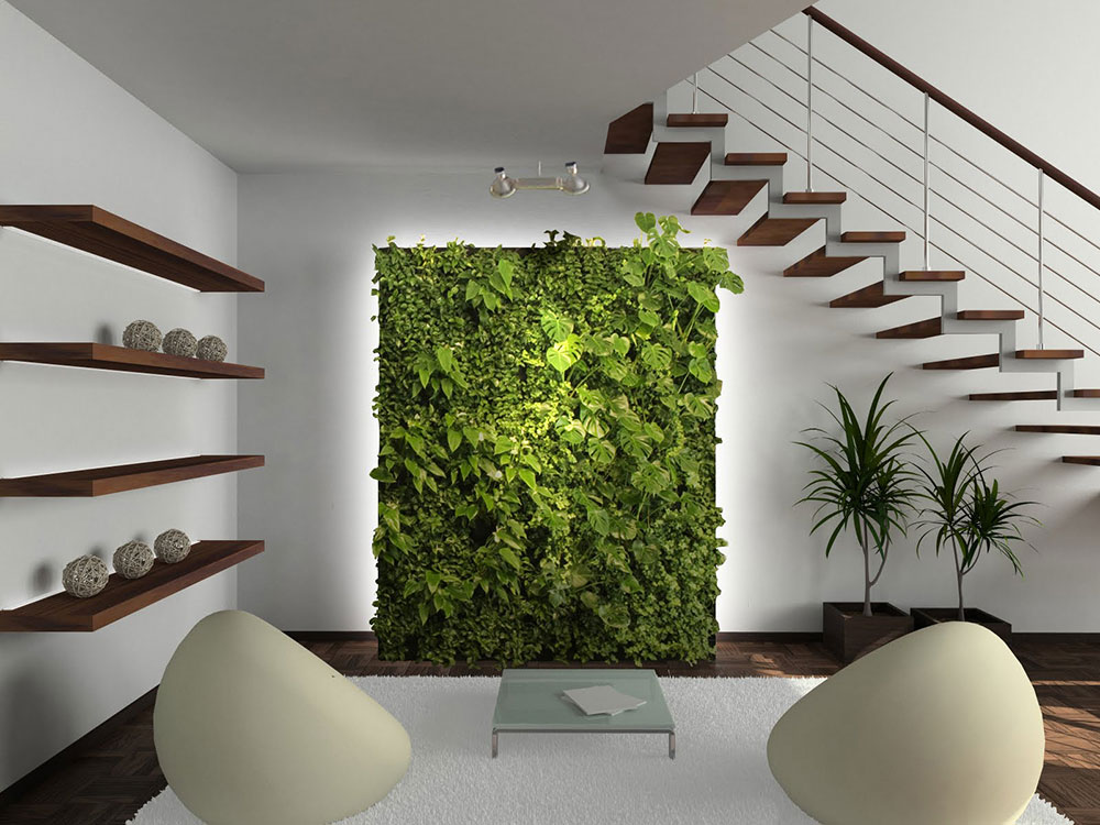 inspiration-interior Why Modern Living Vertical Wall Gardens are the next big trend in interior design of 2019