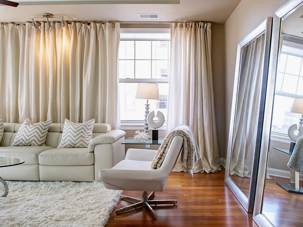 Nice-long-curtains-for-living-room-noise-canceling Smart Window-Treatments