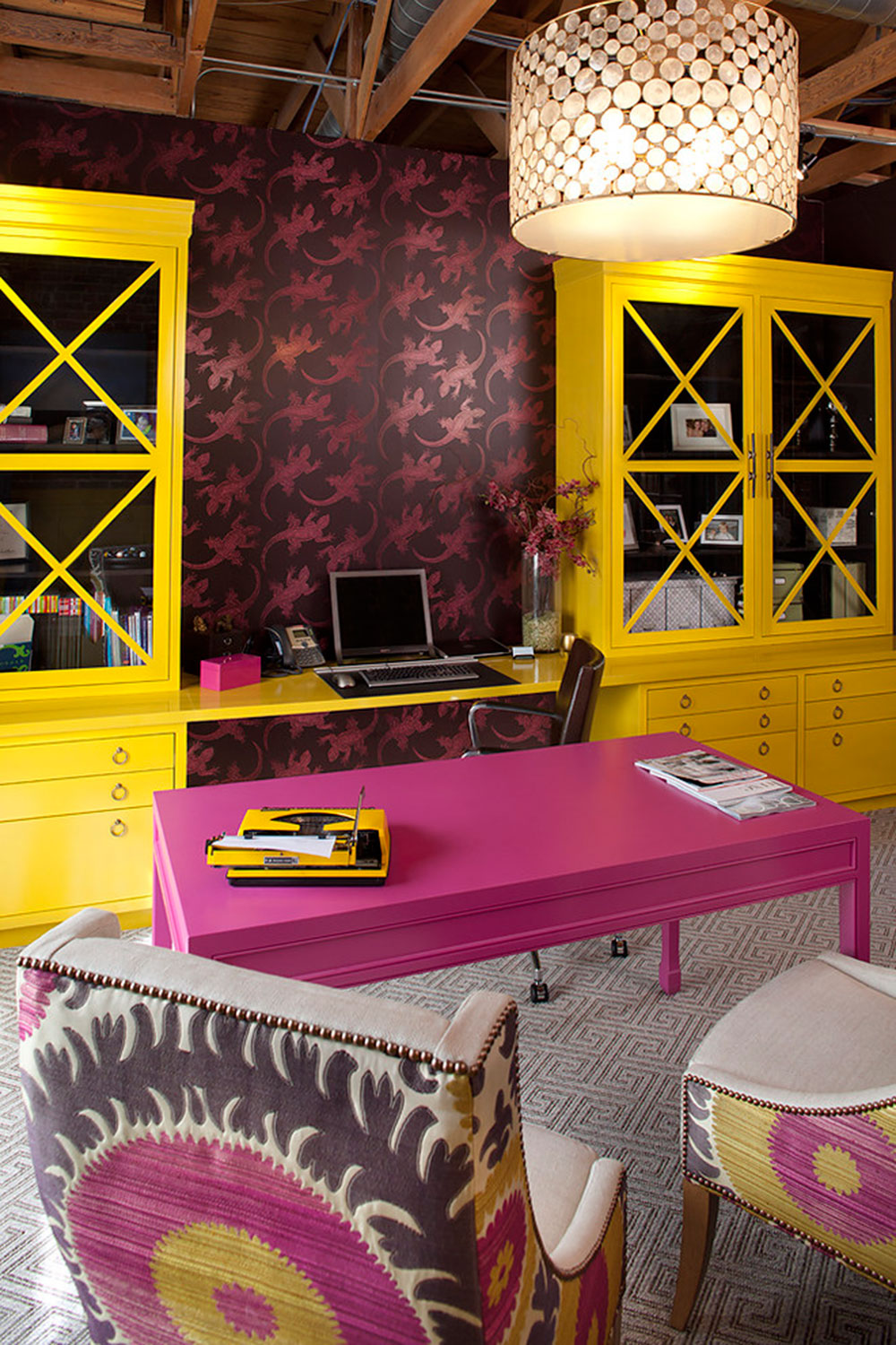 my-office-by-Artistic-Designs-for-Living-Tineke-Triggs Colors that go with yellow: Instructions on how to combine them