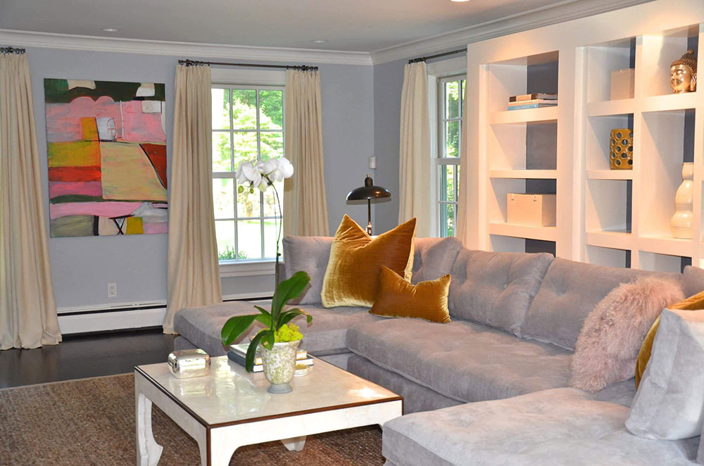 2wa-blue-gray-living room How to make the decor of your house shine