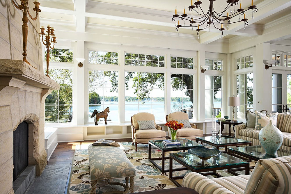 Lake House Living Room Window Design Improve the Outside: Top 10 Exterior Remodeling Ideas