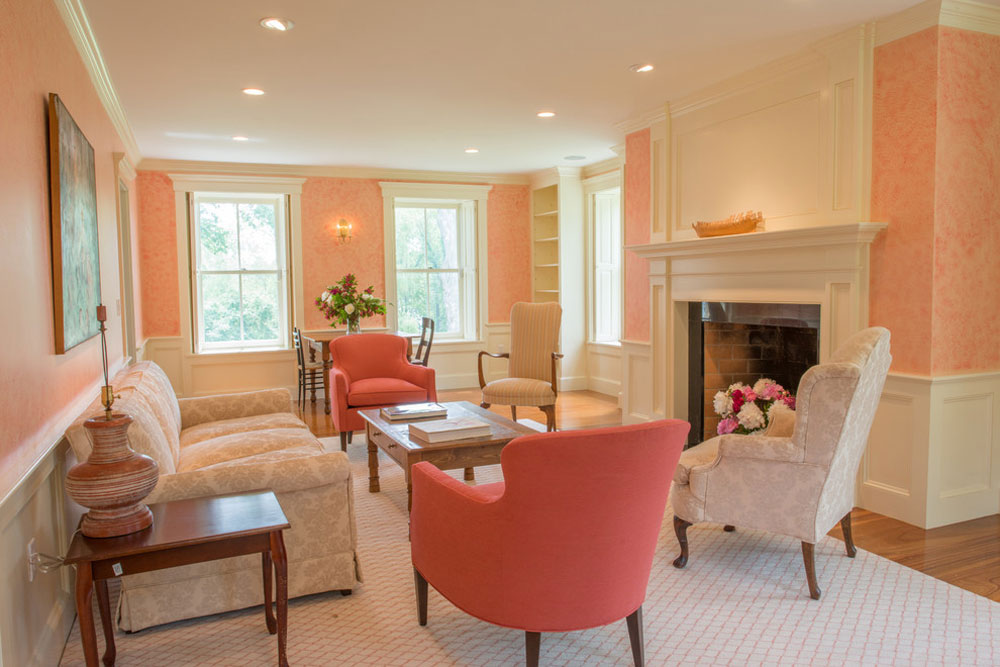 The-Tavern-by-Vermont-Vernacular-Designs Use the peach color to decorate amazing interiors