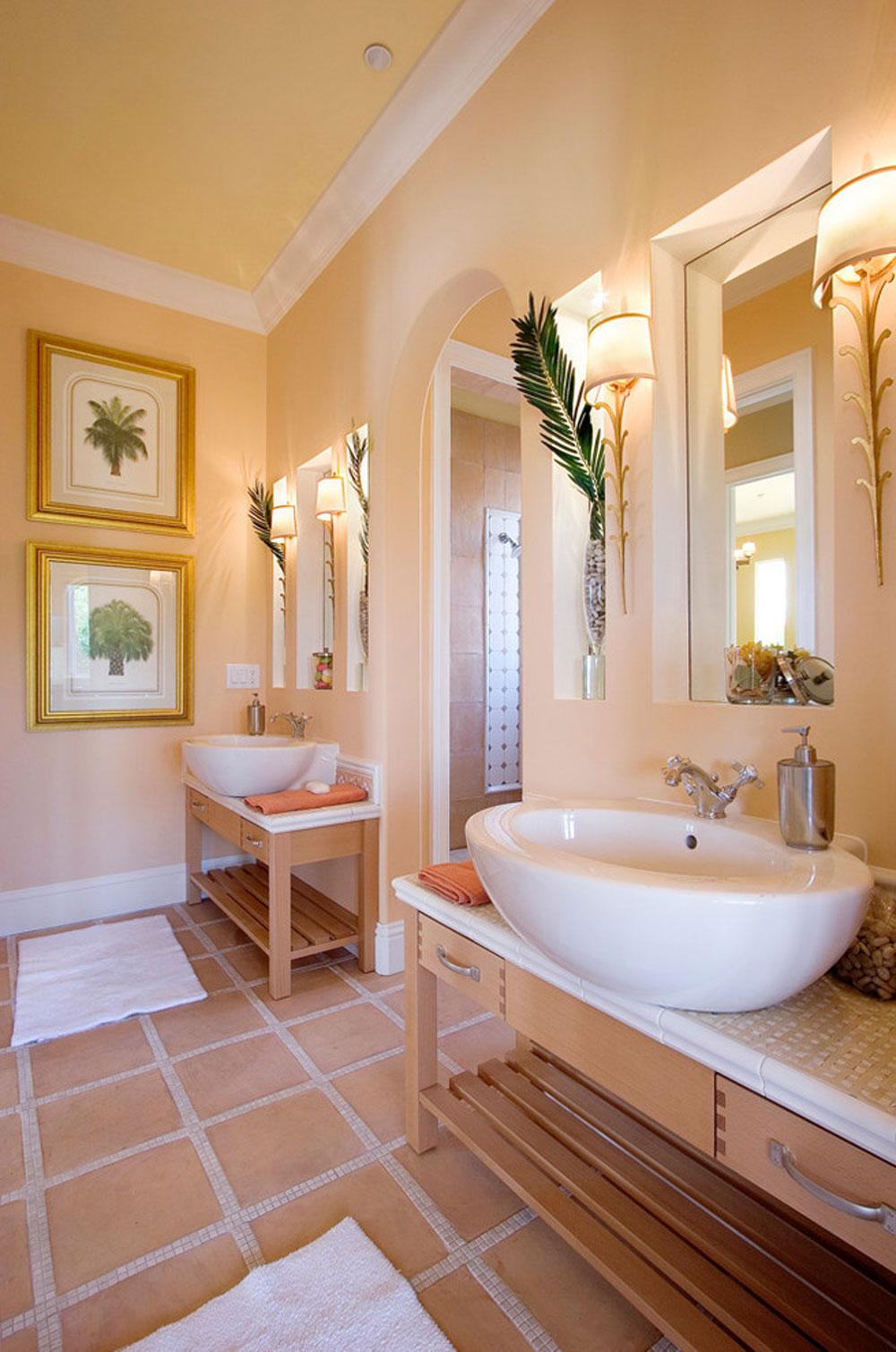 Aquarella-by-Silver-Sea-Homes use the peach color to decorate fantastic interiors
