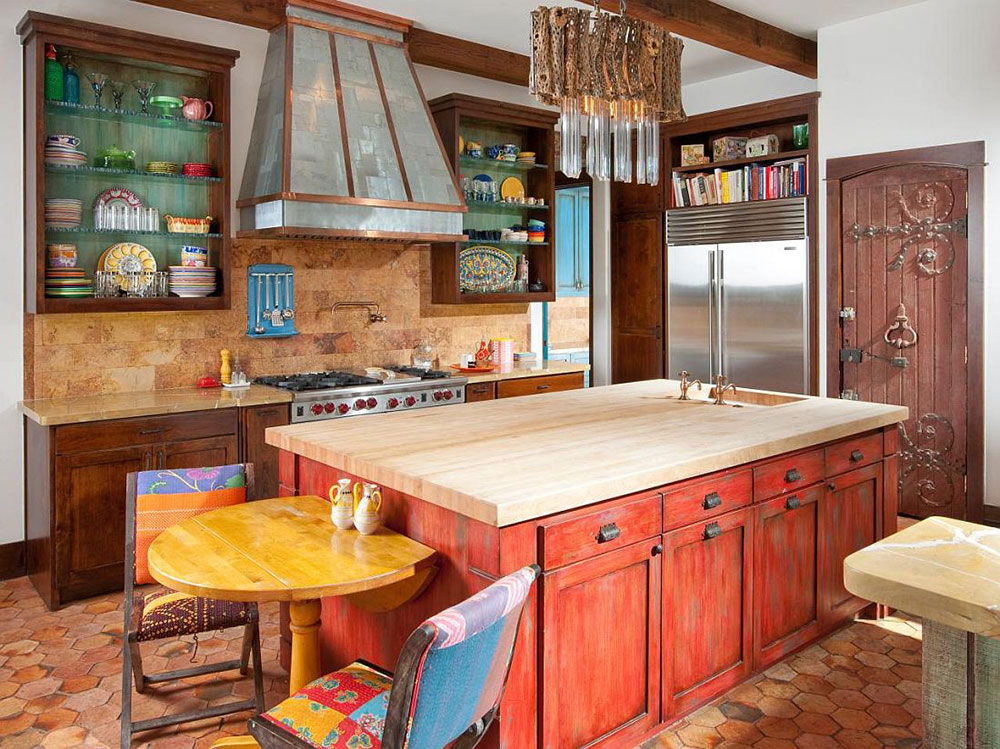coooolor Kitchen Designs - Colored kitchens for you