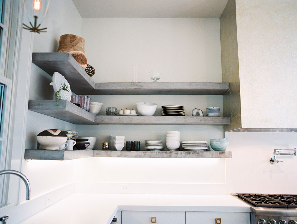Forrest-Hills-Addition-by-Celtic-Works Use corner shelves to make the most of your kitchen space
