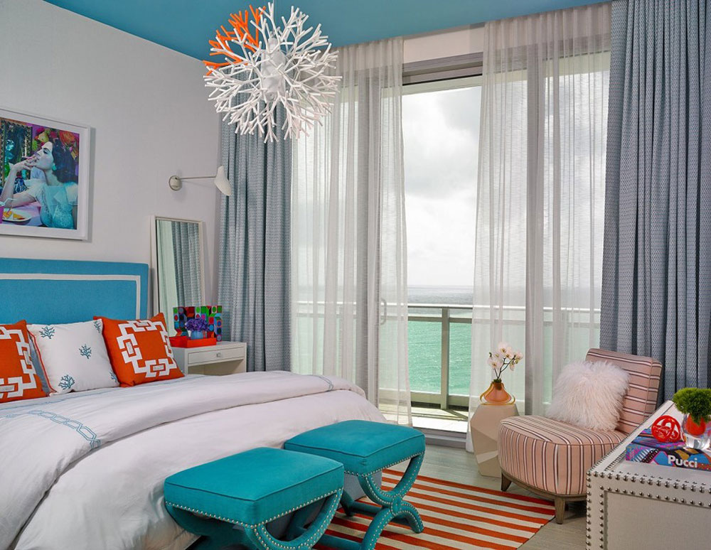 One-Bal-Harbor-by-Deborah-Wecselman-Design-Inc-2 The Coral Color: How to Use It to Decorate Beautiful Interiors
