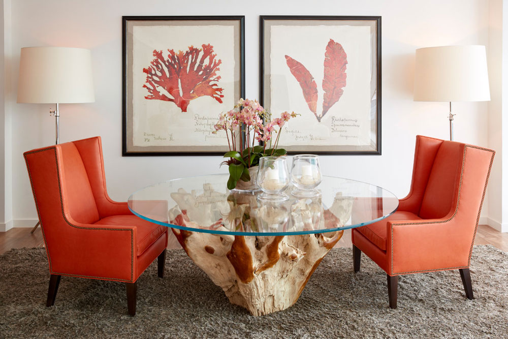 South-Florida-Condo-Chic-by-Jalan-Jalan-Collection The Coral Color: How to Use It to Decorate Beautiful Interiors