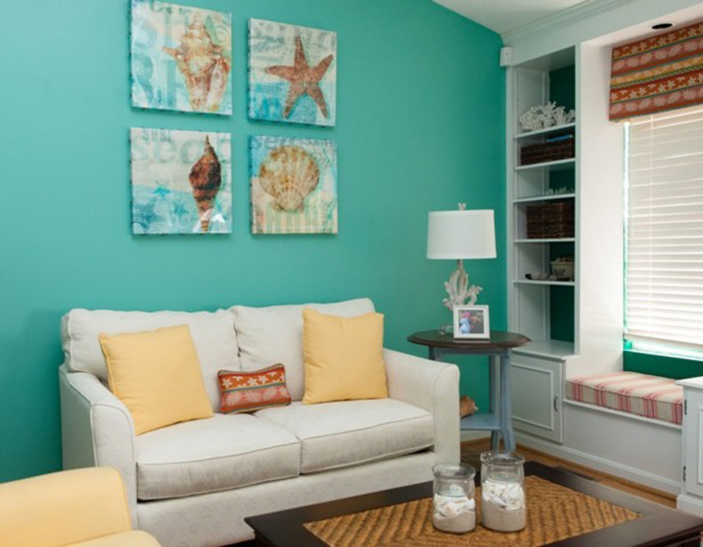 Living-3-by-4-by-Lux-Design-Associates The Aqua Color: How To Decorate Your Home Interior With It