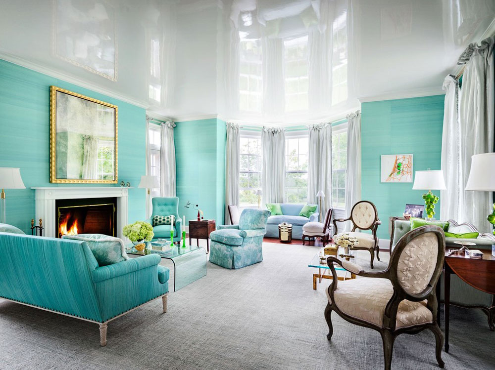 Chesney-Favorite-Spaces-by-Chesneys The aqua color: How to decorate your house interior with it