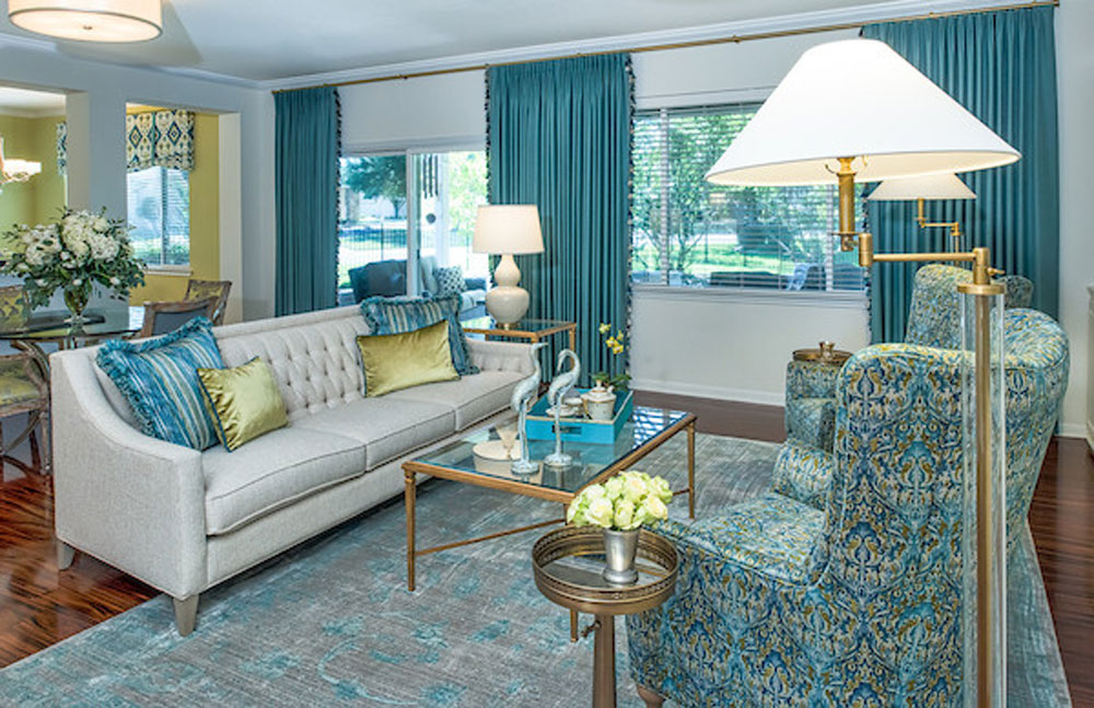 Sun-City-Refresh-by-Joyce-Marie-Interiors The aqua color: How to decorate your house interior with it