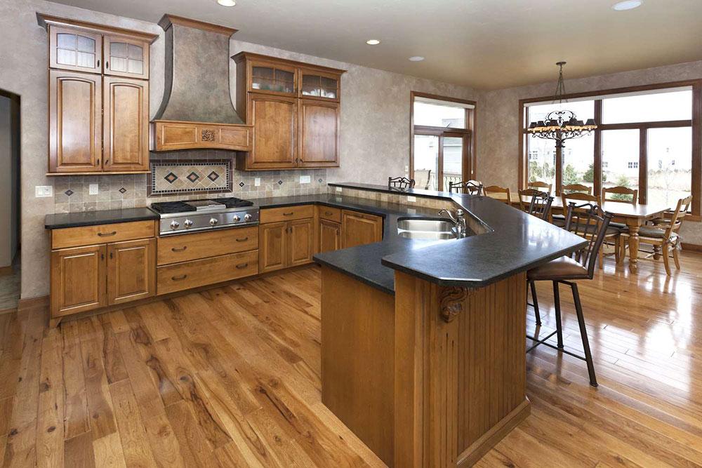 black-granite-worktops-ideas-57fb717f5f9b586c358525f1 5 rules that you must observe when renovating