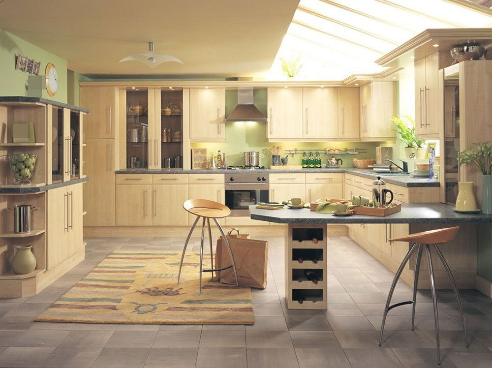 Practical How to design and maintain a practical eat-in kitchen