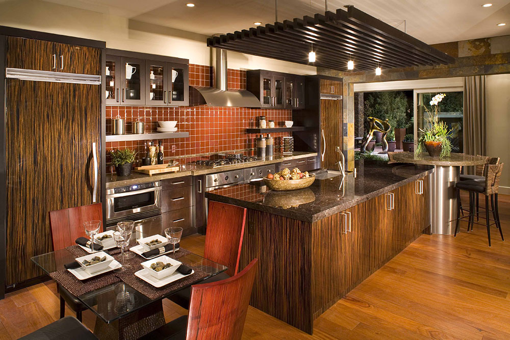 kitc How to design and maintain a practical eat-in kitchen