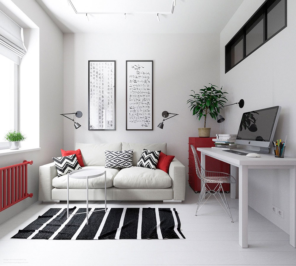 Color-theme-ideas-for-small-apartments Interior-design-solutions for your small apartment