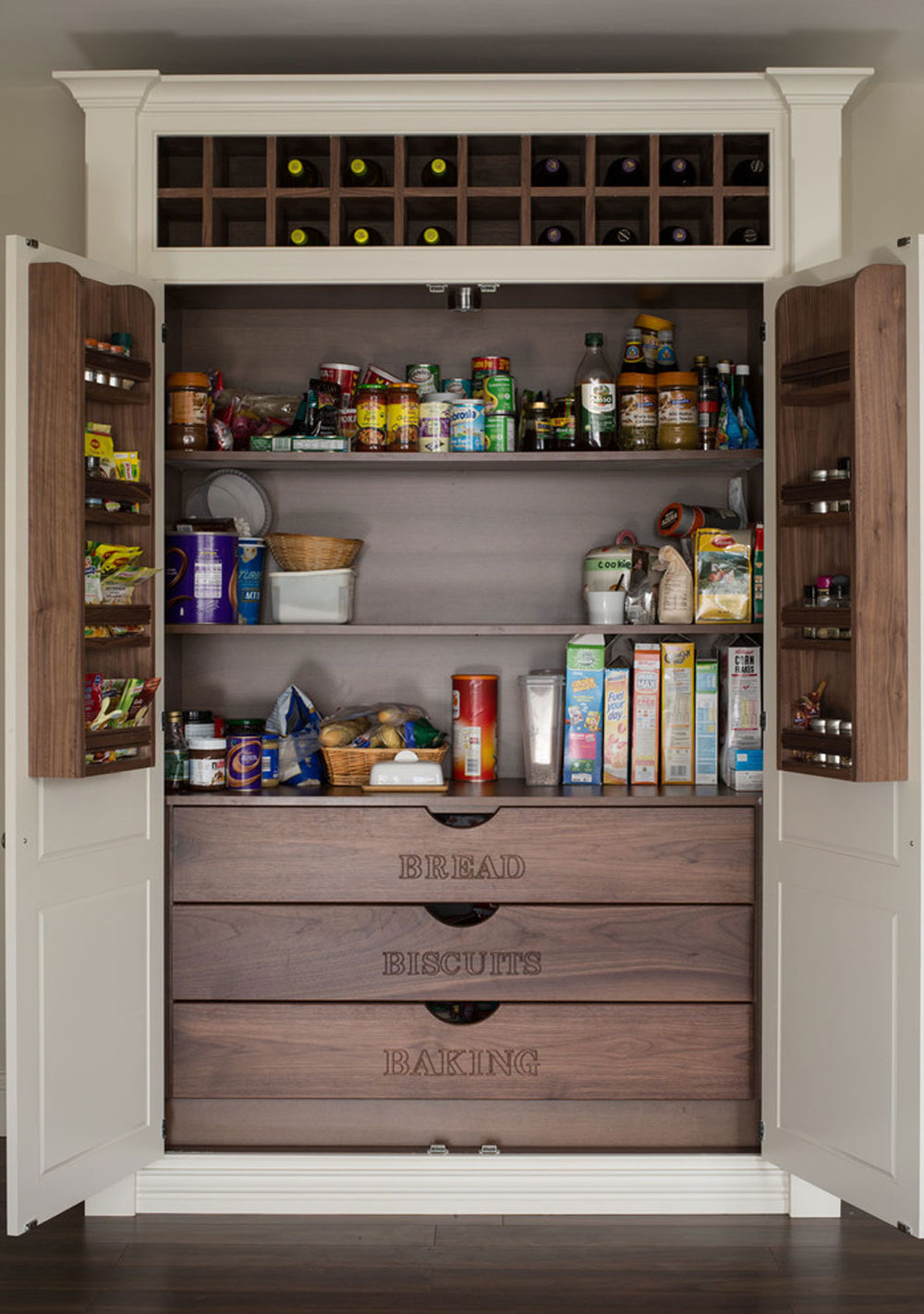 Kitchen for Jonathan Williams Kitchens by BMLMedia.ie_ Ideas for pantry cabinets: Ideas for shelving and storage for your kitchen