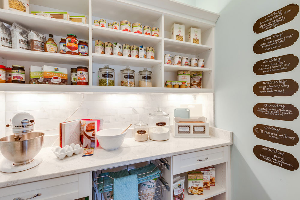 Coastal-Virginia-Idea-House-Holly-Road-by-Stephen-Alexander-Homes-Neighborhoods Pantry-Cabinet Ideas: Shelving and storage ideas for your kitchen