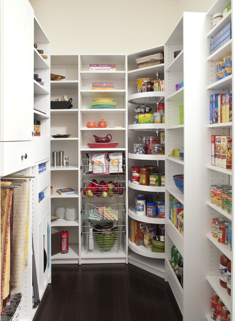 Well-designed pantry to keep you from The Closet-Works-Inc.  Pantry cabinet ideas: shelving and storage ideas for your kitchen