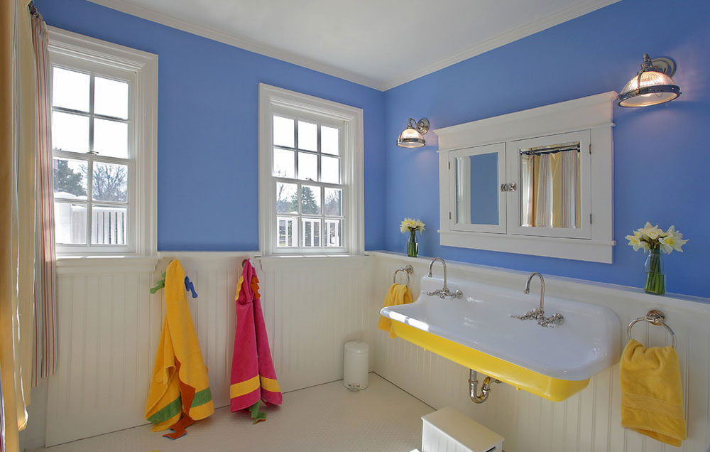Bathroom-by-the-block-builders-group Blue bathroom ideas.  Design, decor and accessories