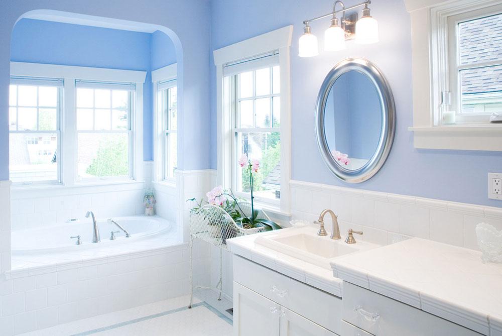 Blue-Bathroom-by-Paul-Moon-Design Blue bathroom ideas.  Design, decor and accessories