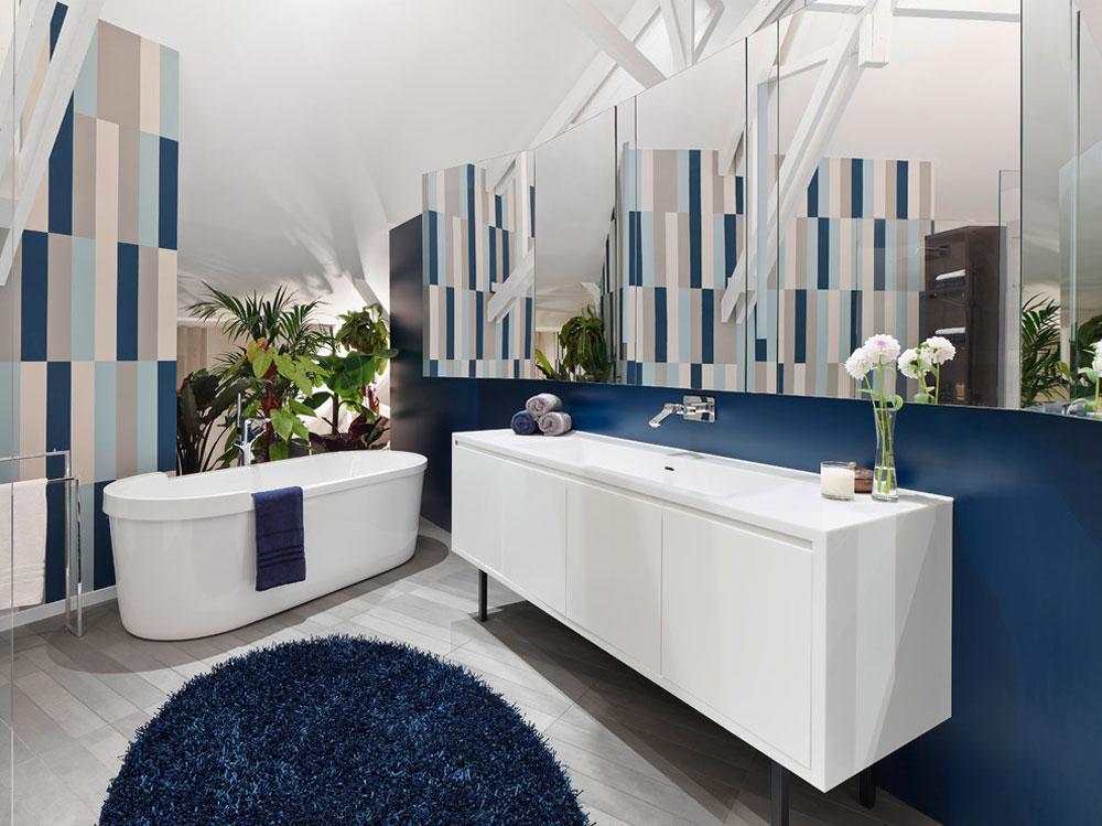 Loft-ESN-von-Ippolito-Fleitz-Gruppe -–- Identity-Architects Blue bathroom ideas.  Design, decor and accessories