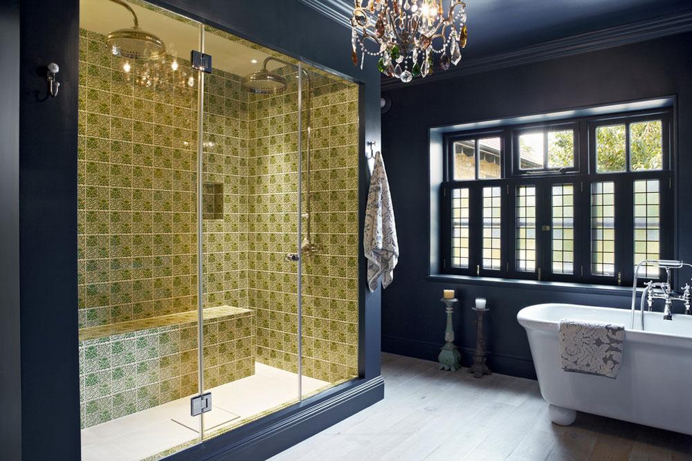 Contemporary bathrooms from Godrich Blue bathroom ideas.  Design, decor and accessories