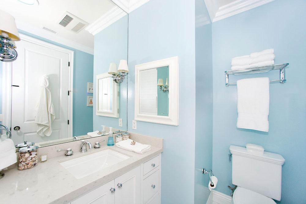 Globus-Builder-by-Globus-Builder Blue bathroom ideas.  Design, decor and accessories