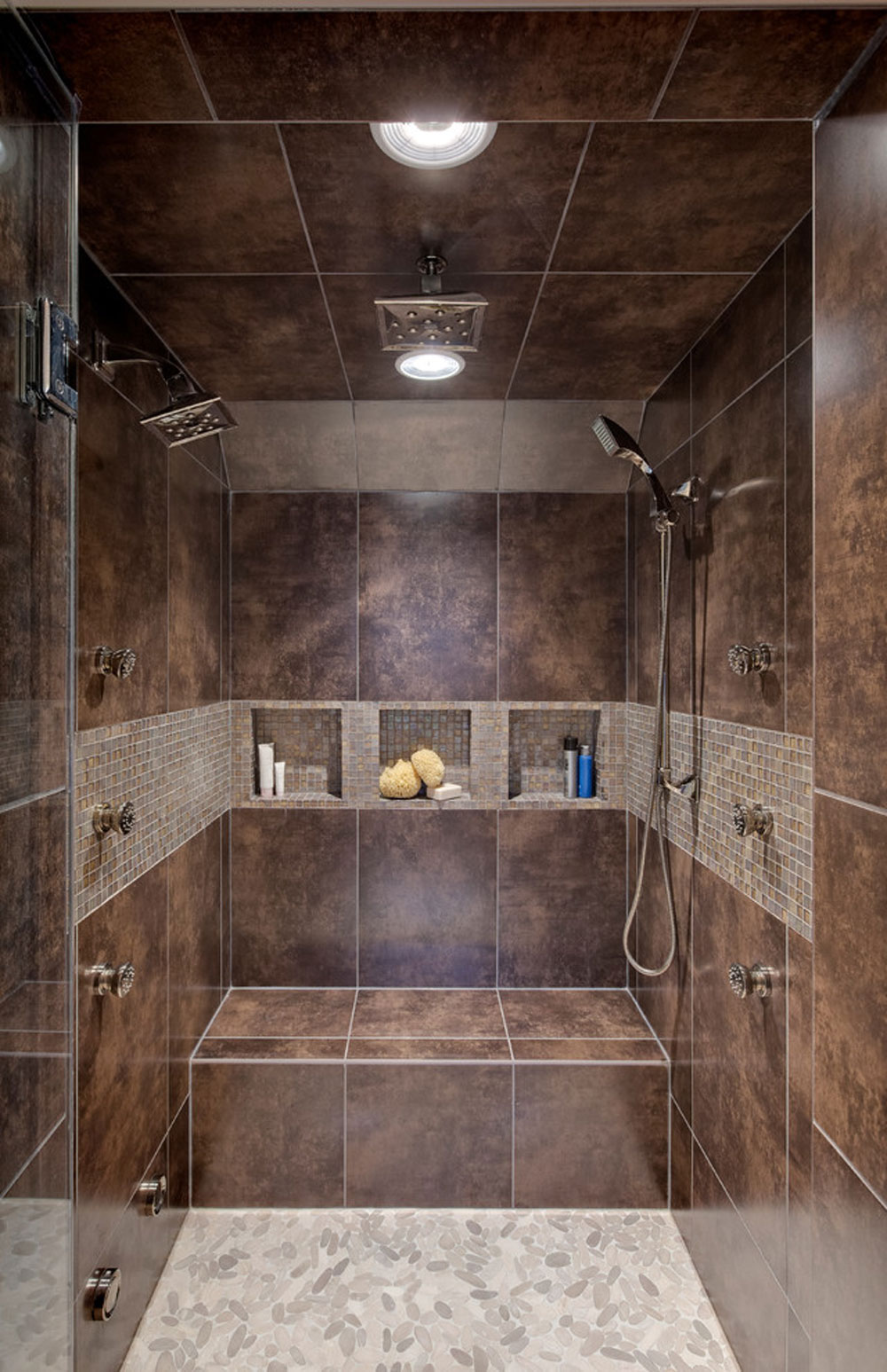Transitional-Master-Bath-by-Drury-Design shower enclosure ideas and best practices for your bathroom