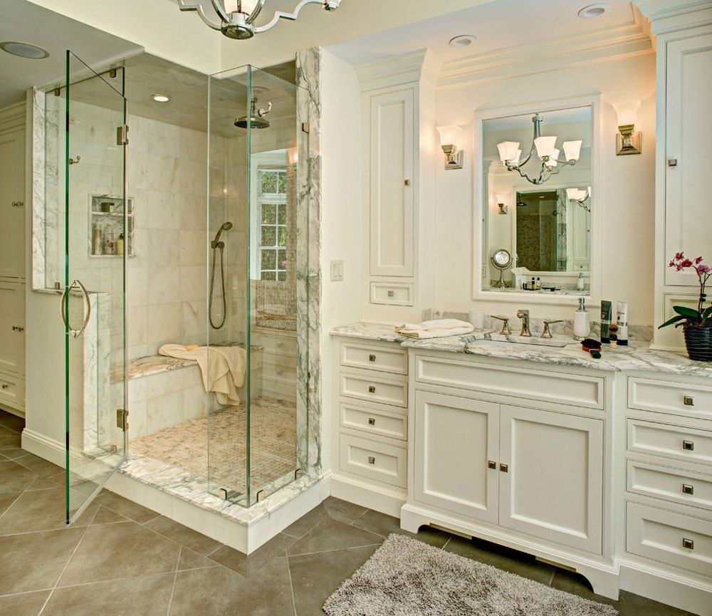 Calacatta-Manhattan-Marble-Bathroom-by-Atlas-Marble-and-Granite-Shower Niche ideas and best practices for your bathroom
