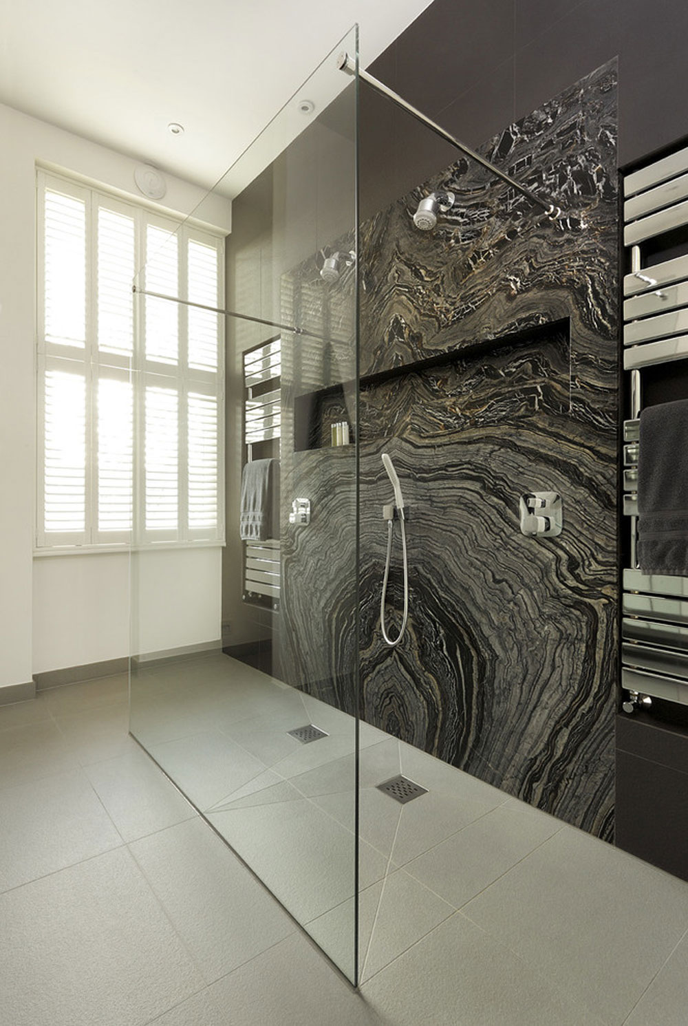Contemporary shower ideas and bathroom-by-cuegroup shower best practices for your bathroom