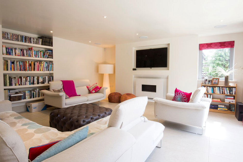 Home for art lovers by Brunskill design ideas for small living rooms on a budget