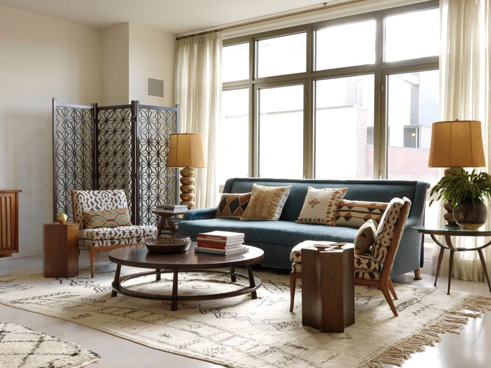 West-Village-Apartment-by-Sara-Bengur-Interiors Decorating a modern apartment: decor, furniture and ideas