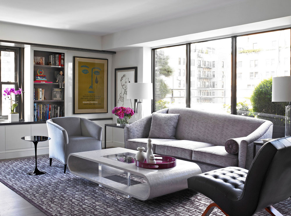Modern Apartment-NYC-by-Michel-Arnaud Decorating a modern apartment: decor, furniture and ideas