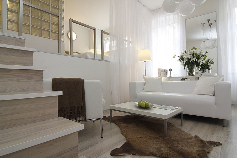 Contemporary-Studio-by-ZL-Design-2 Decorating a modern apartment: decor, furniture and ideas