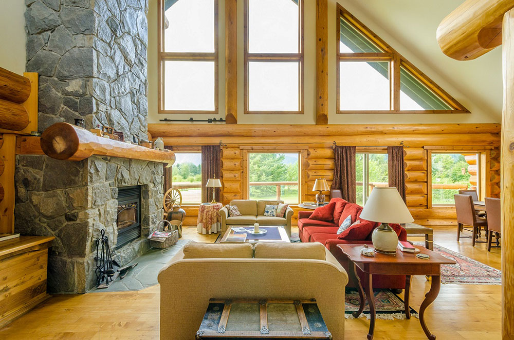 Log Cabin Interior Ideas Eight interior design ideas for small log cabins