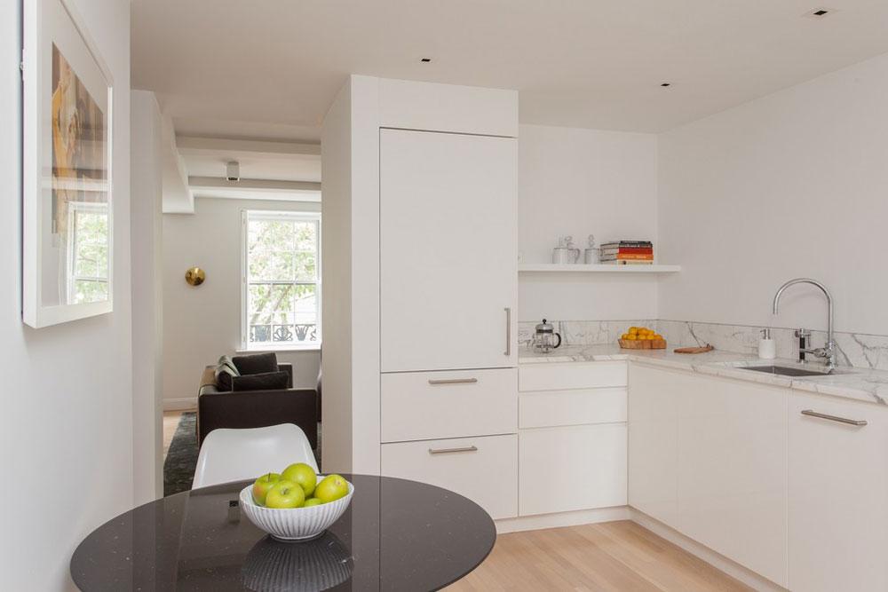 Contemporary kitchen by Gne-Architektur Ideas for kitchen stalls for your small kitchen
